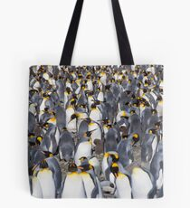 Penguins as far as the eye can see! (plus one chick...) Tote Bag