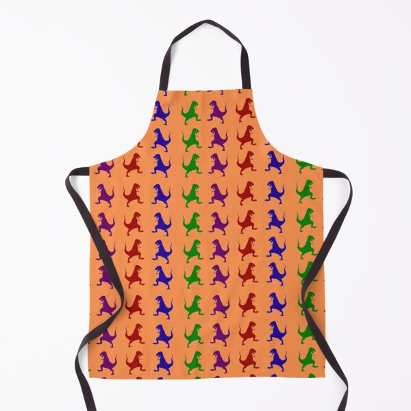 Colorful Dinosaurs Apron