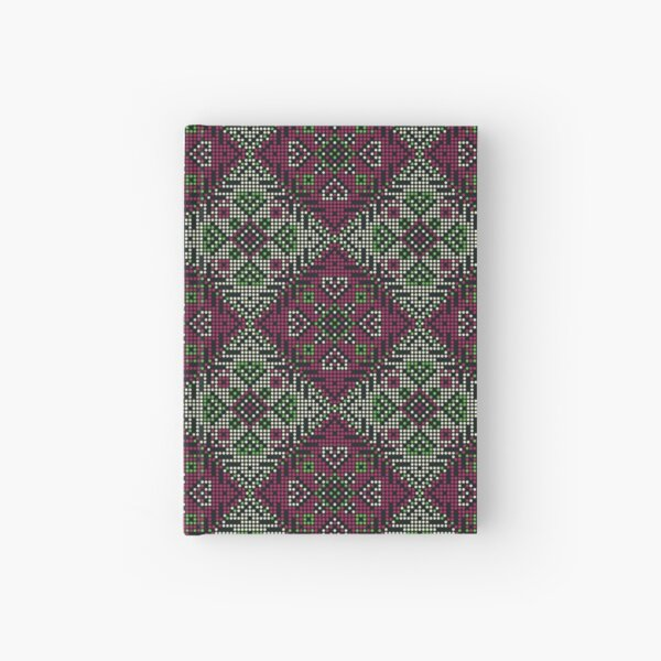 Ethnic Pattern 07 Hardcover Journal