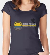 Ends of the Earth (ver3) Women's Fitted Scoop T-Shirt