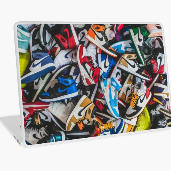 All of Sneaker Brands Laptop Skin