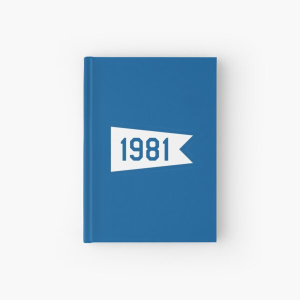 LA 1981 Pennant Hardcover Journal