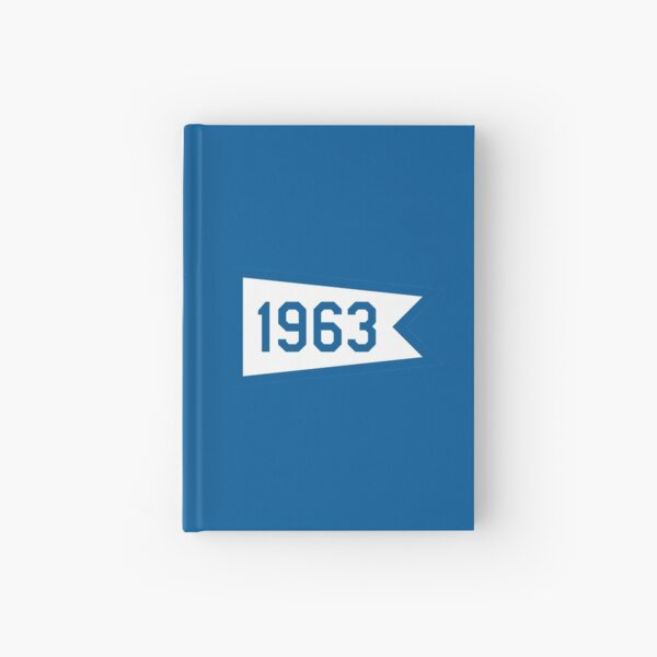 LA 1963 Pennant Hardcover Journal