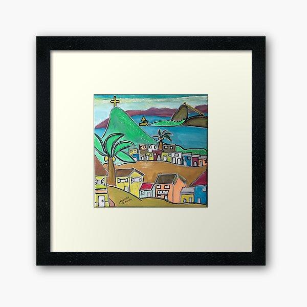 Rio City of love  Framed Art Print