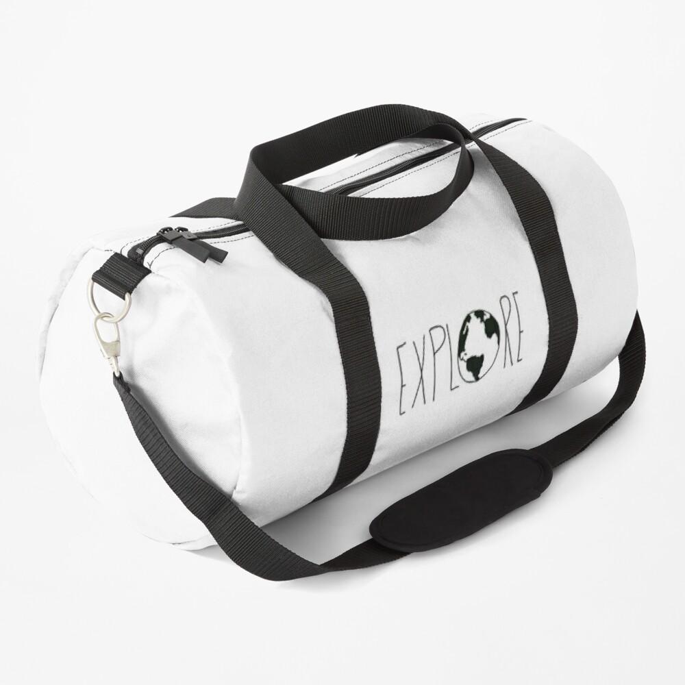 Explore the Globe x BW Duffle Bag