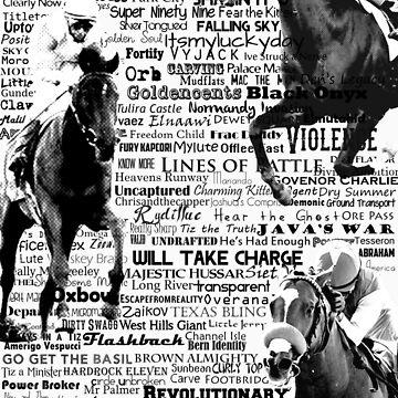 2013 Kentucky Derby Hopefuls by dawnallama