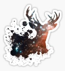 Space Stag Sticker