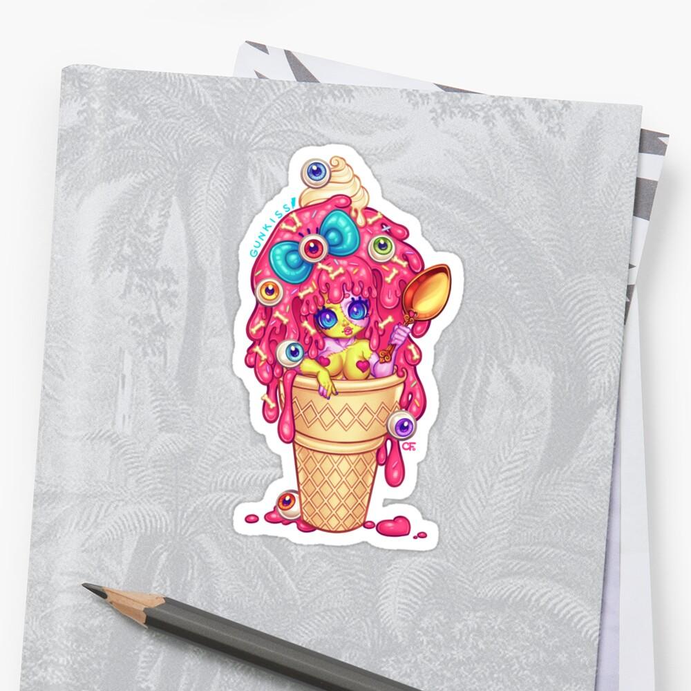 Ice-Cream Zombie Girl by Gunkiss