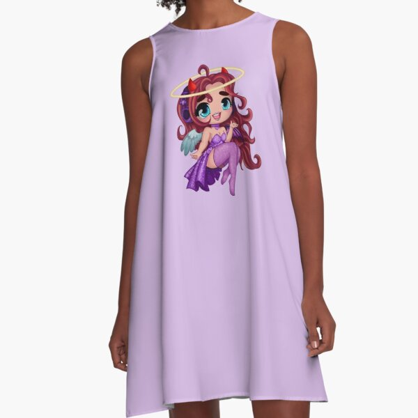 NakedAngel Chibi Avatar A-Line Dress