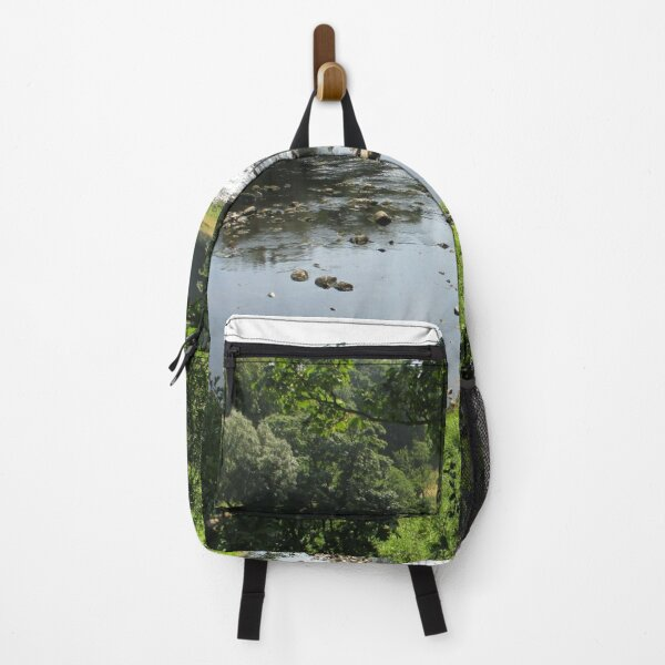Merch #94 -- Stream Between Trees - Shot 3 (Hadrian's Wall) Backpack