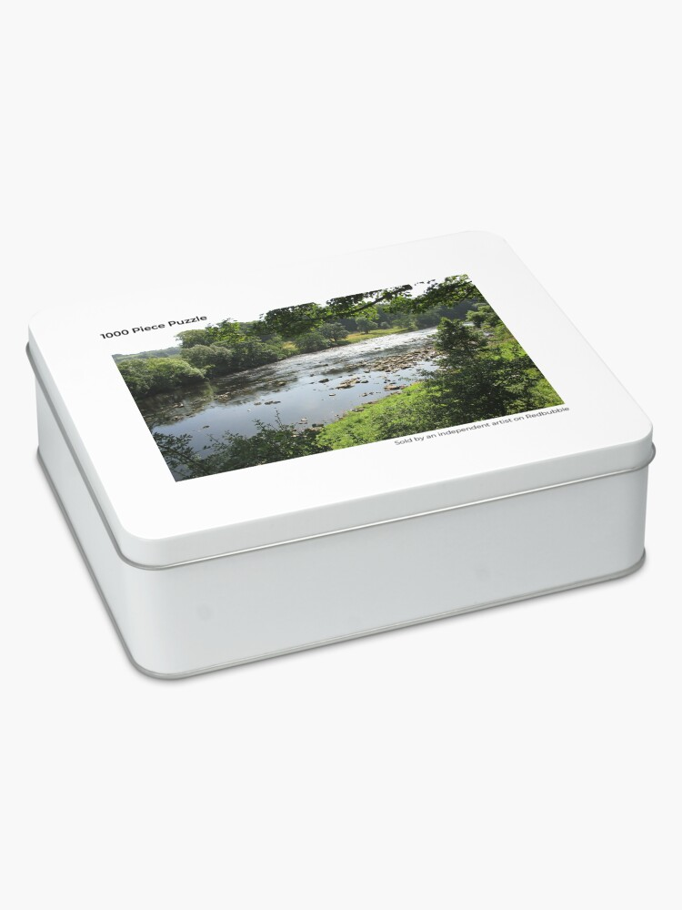 Alternate view of M.I. #94 |☼| Stream Between Trees - Shot 3 (Hadrian's Wall) Jigsaw Puzzle