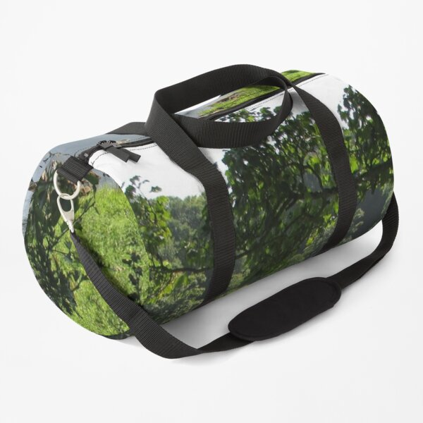 Merch #94 -- Stream Between Trees - Shot 3 (Hadrian's Wall) Duffle Bag