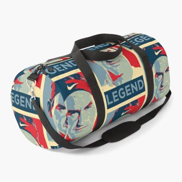 Roger Federer Legend Portrait Design Duffle Bag