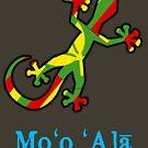 Hawaiian Flag Gecko by pjwuebker