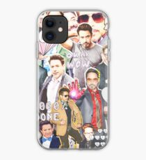 rdj collage iPhone-Hülle & Cover