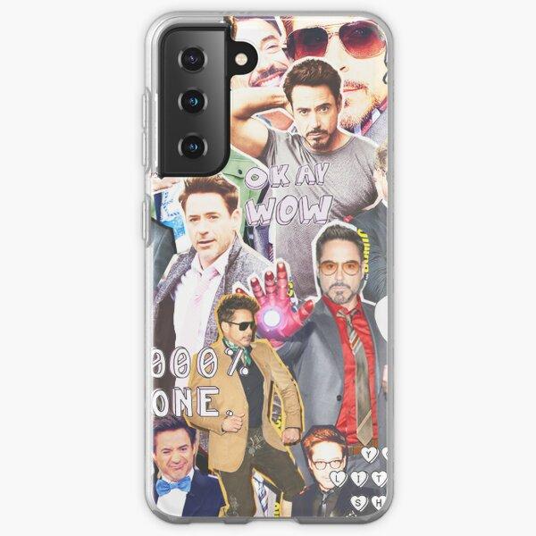 rdj collage Samsung Galaxy Soft Case