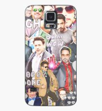 rdj collage Case/Skin for Samsung Galaxy