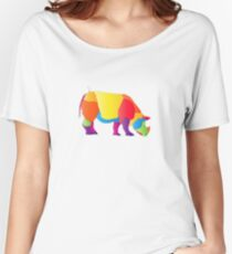 Paper Craft Rhino Women's Relaxed Fit T-Shirt