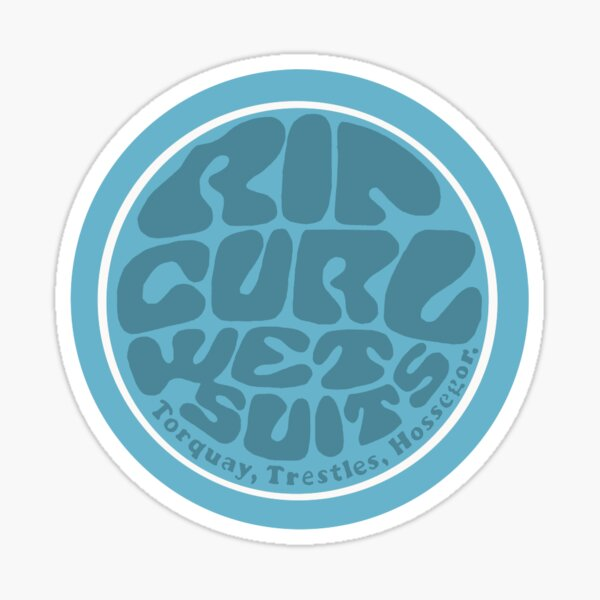 Rip Curl Wet Suits Sticker