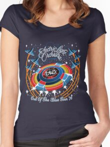 E.L.O. Out of The BLUE TOUR Women's Fitted Scoop T-Shirt