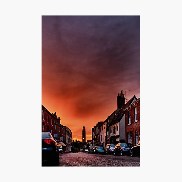 Shepherd's Warning Photographic Print