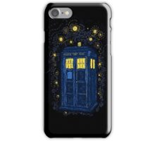 Surreal Tardis iPhone Case/Skin