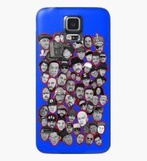 alte Schule Hip-Hop-Legenden-Collagenkunst Hülle & Skin für Samsung Galaxy