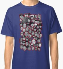 old school hip hop legends collage art Classic T-Shirt