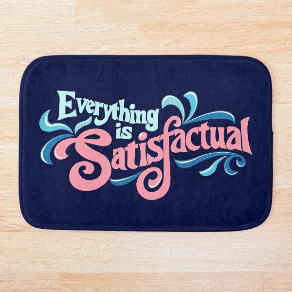 Splash Mountain - Everything is Satisfactual Bath Mat