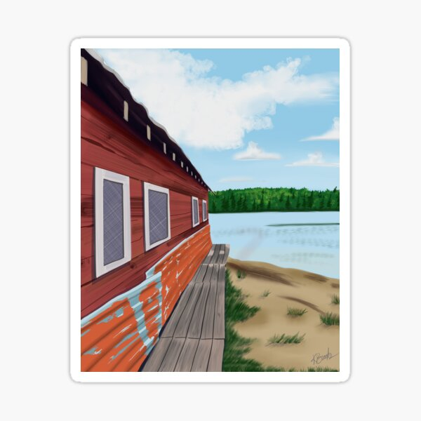 Boathouse Sticker