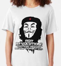 Got Revolution? FACE T-shirt ajusté