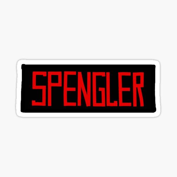 "Ghostbusters ""SPENGLER"" Nametag Sticker"