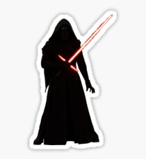 Kylo Ren Shadow Style Sticker