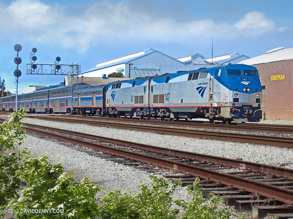 Amtrak  by David Denny