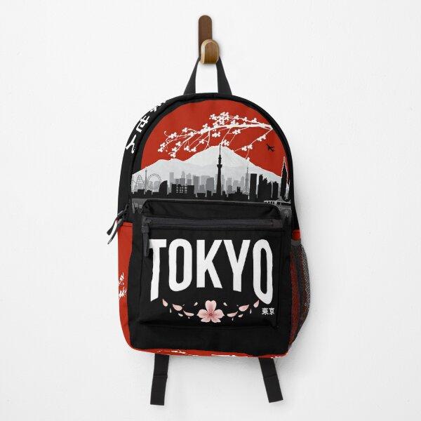 Tokyo - 'I don't speak Japanese': White Version Backpack
