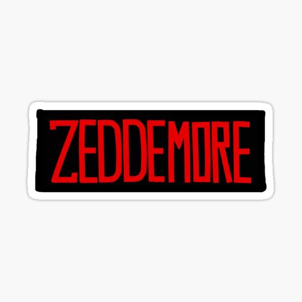 "Ghostbusters ""ZEDDEMORE"" Nametag Sticker"