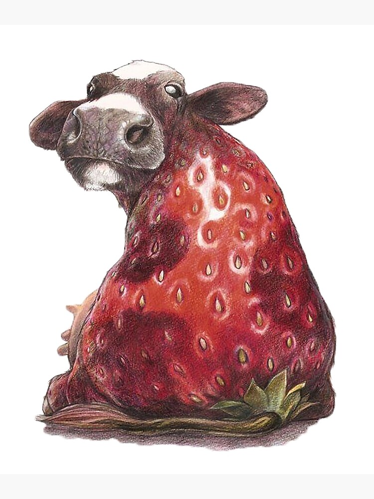 fanny strawberry cow by amarsaadi