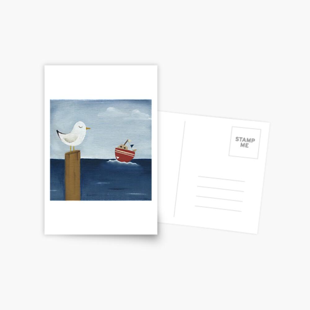 Seagul Of My Heart Postcard