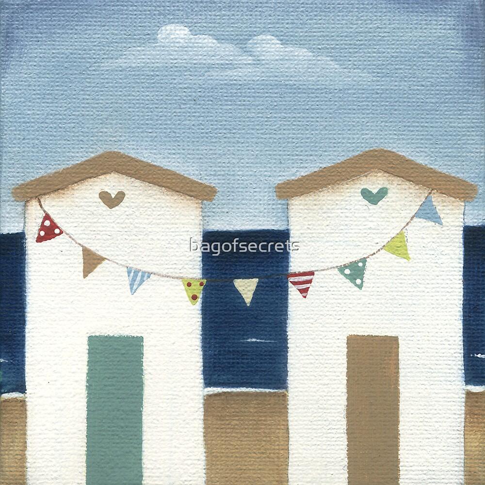 Beach Hut by bagofsecrets