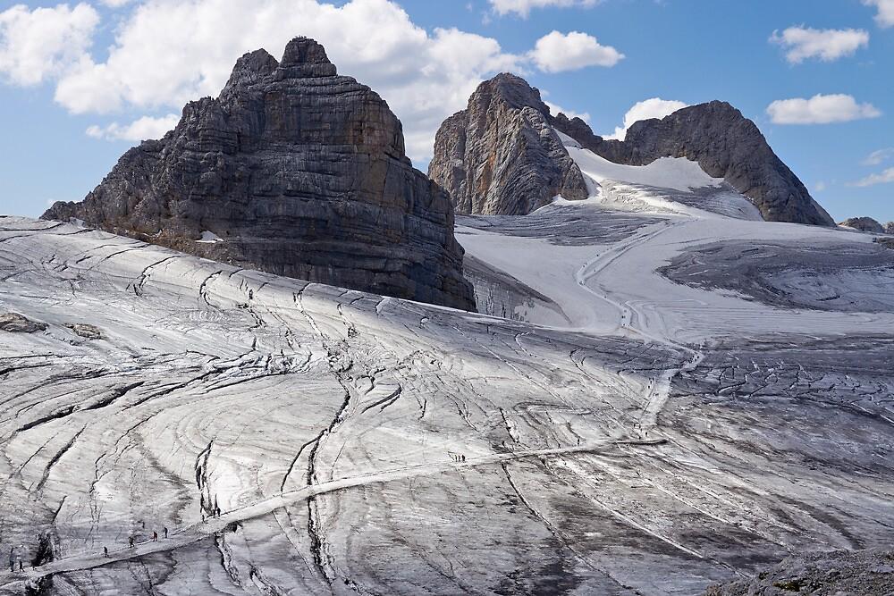 Dachstein glaciers I by Vladimir Rudyak