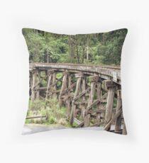 Trestle Bridge Throw Pillow
