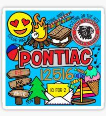 Pontiac Sticker