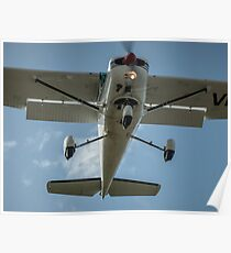 Cessna 152 on Finals Poster