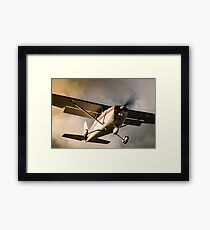 Sunset Arrival Cessna 172 Framed Print