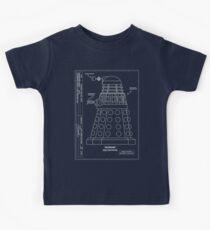 Bracewell's Ironside (Dalek) Blueprints Kids Tee