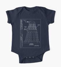 Bracewell's Ironside (Dalek) Blueprints Kids Clothes