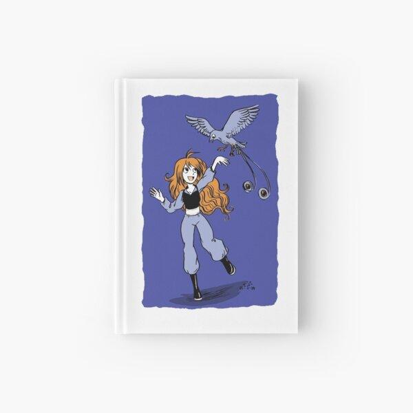 Girl and her bird Hardcover Journal
