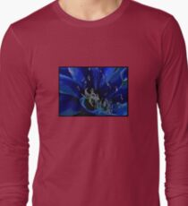 Blue Macro Long Sleeve T-Shirt