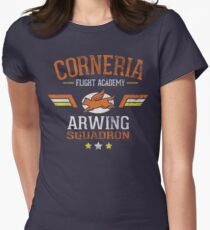 Arwing Squadron Women's Fitted T-Shirt