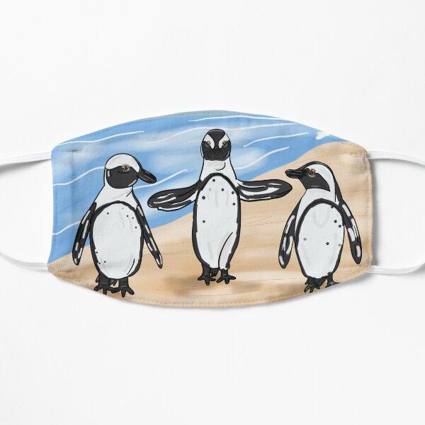 African Penguins  Flat Mask